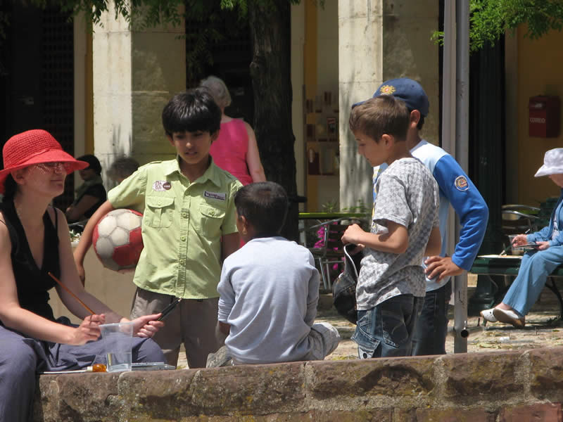 Portugal – Working in Silves with local interest