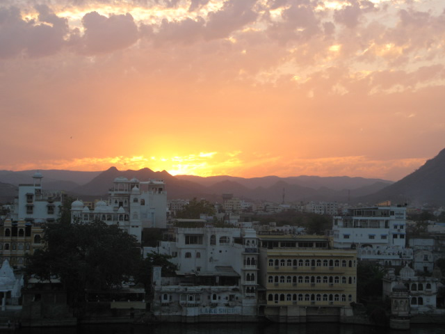India – Udaipur - view from hotel