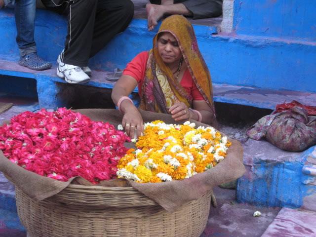 India – Flower seller