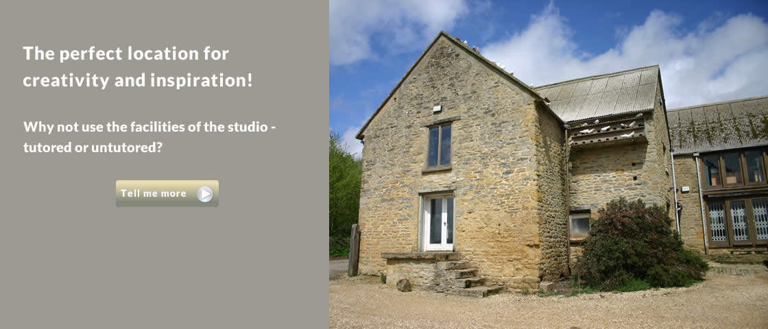 The perfect location for creativity and inspiration. The studio is available for use on a tutored or untutored basis.